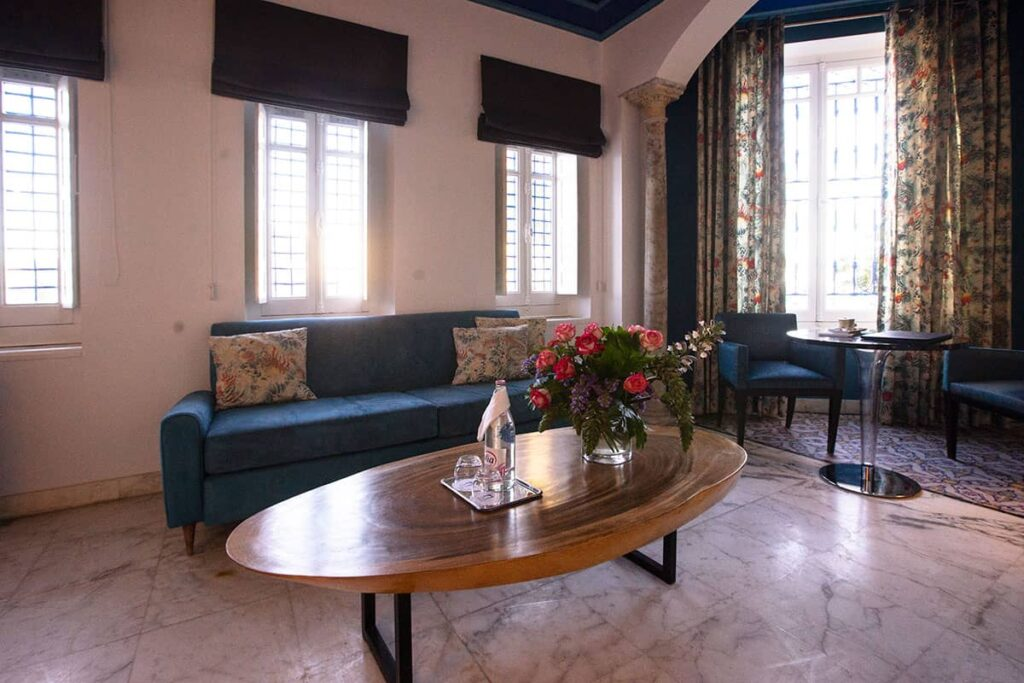 Suite Deluxe vue Mer la Villa Bleue Sidi Bou Saîd