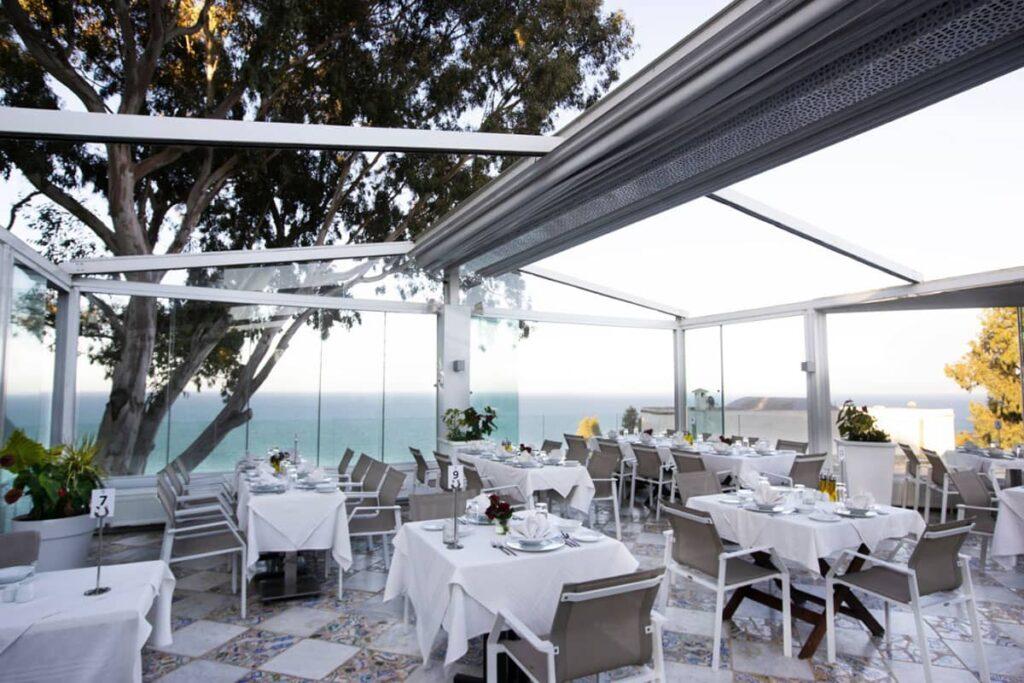 Terrasse la Villa Bleue Sidi Bou Saïd