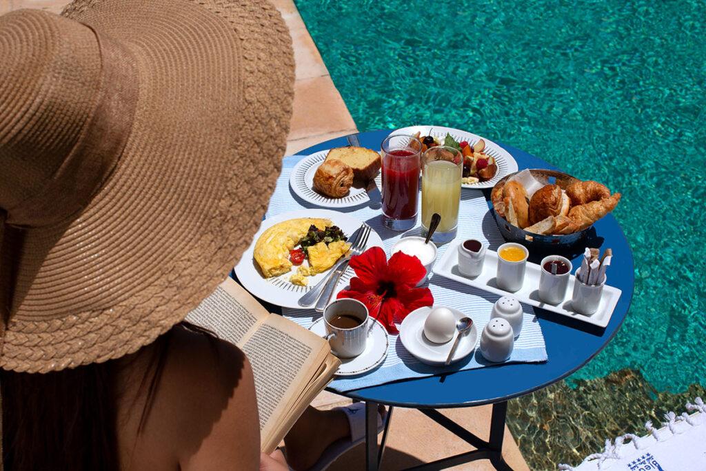 Petit-déjeuner La Villa Bleue Sidi Bou Said